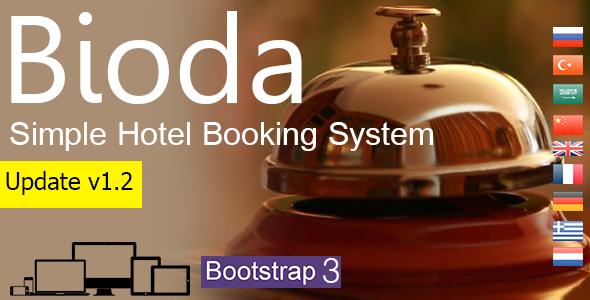 Bioda v1.2 – Simple Hotel Booking System