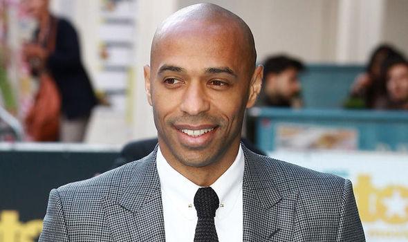 Mshambulizi wa zamani wa Arsenal Thiery Henry. Picha/Getty Images