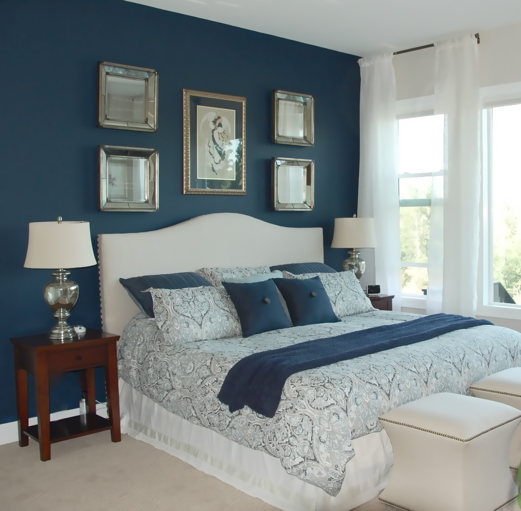 Bedroom Colour Combination With Blue Interior Design Bedroom Study Table Bedroom Paint Ideas With Brown Furniture Royal Blue Bedroom Walls: The Yellow Cape Cod: Bedroom Makeover~Before And After~A