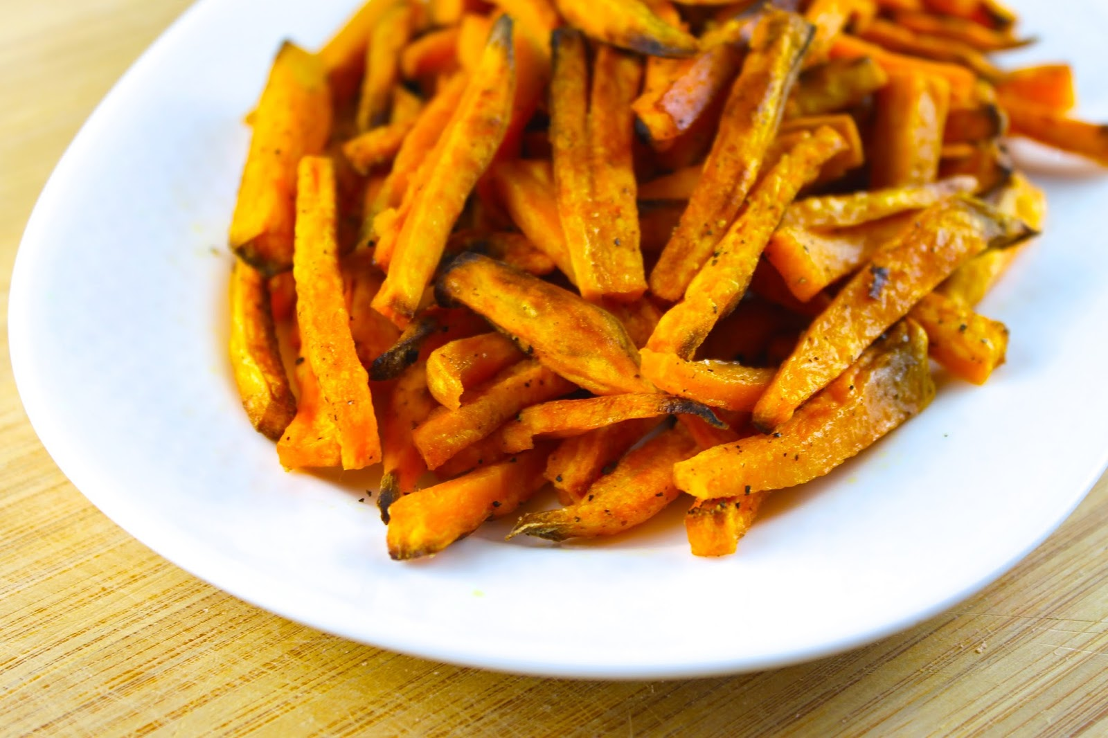 baked sweet potato sticks ingredients for 6 servings