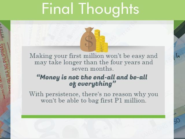 Steps to Making your First 1 Million