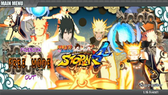 Download game Naruto Senki Ultimate Ninja Storm 4 v2 Apk By Cevrin Dio  terbaru