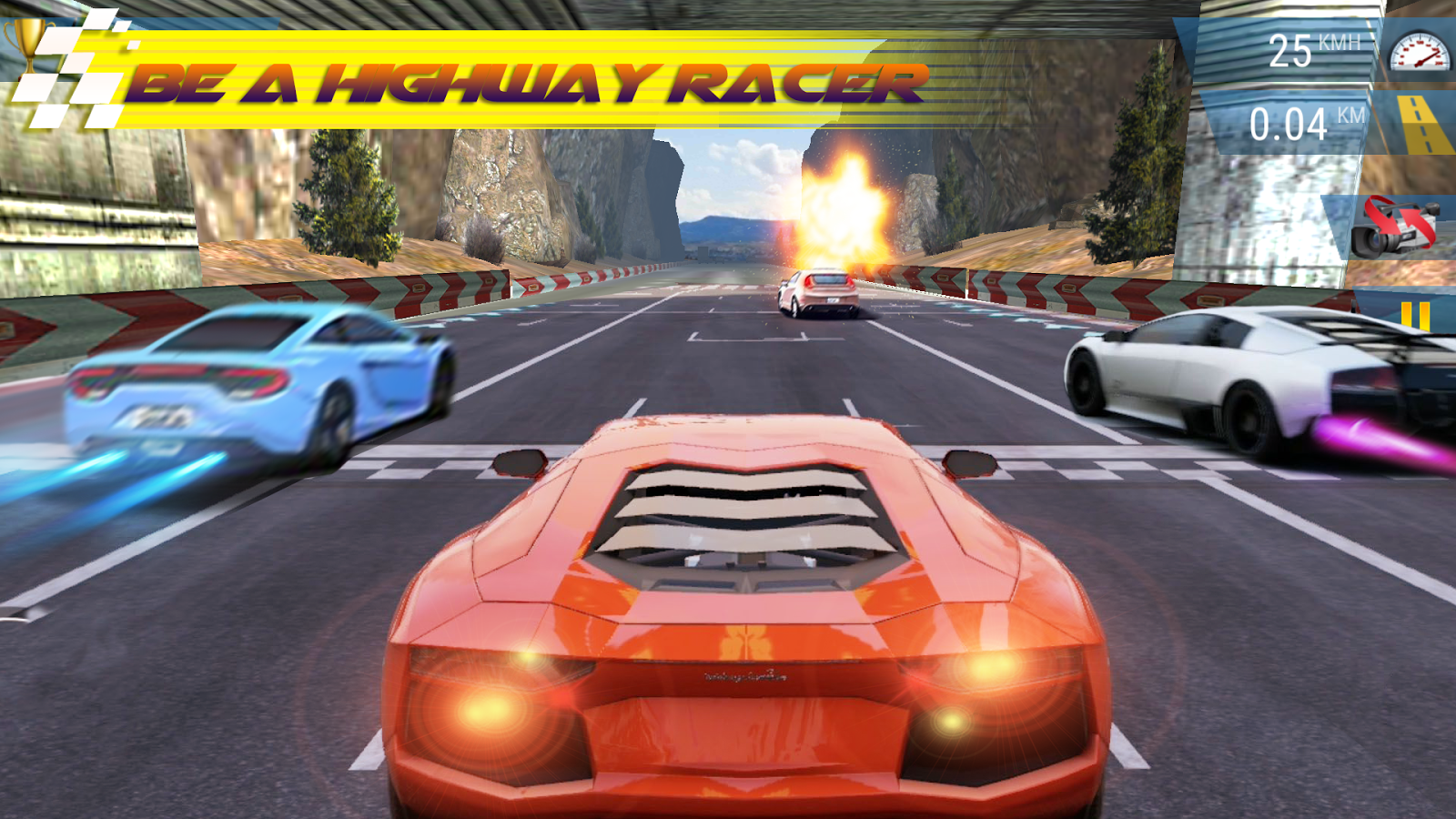 Mad 3D Highway Racing MOD APK