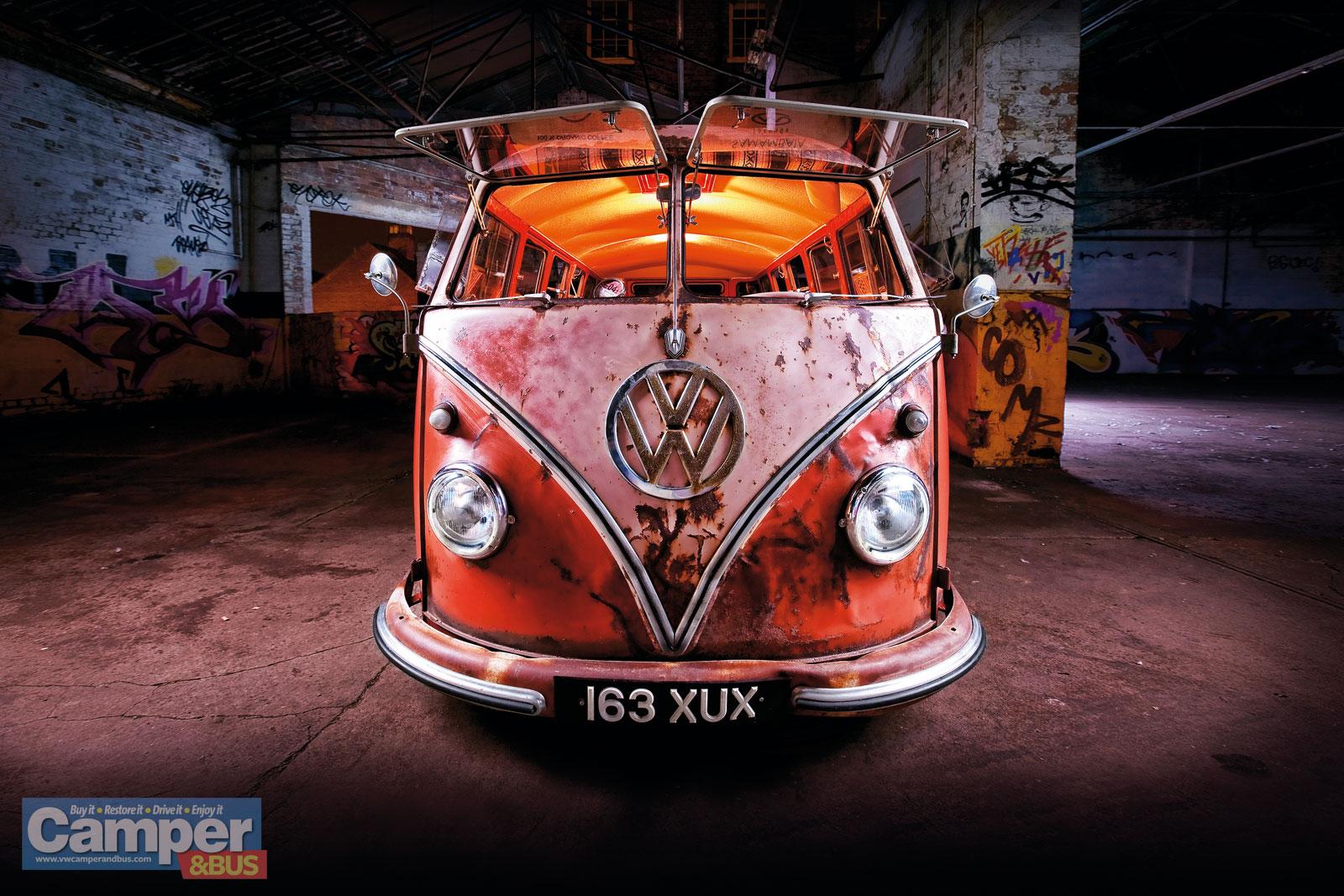 Rusty Bus Wallpaper | vw bus wagon