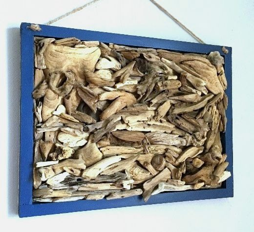 Driftwood Wall Art Framed
