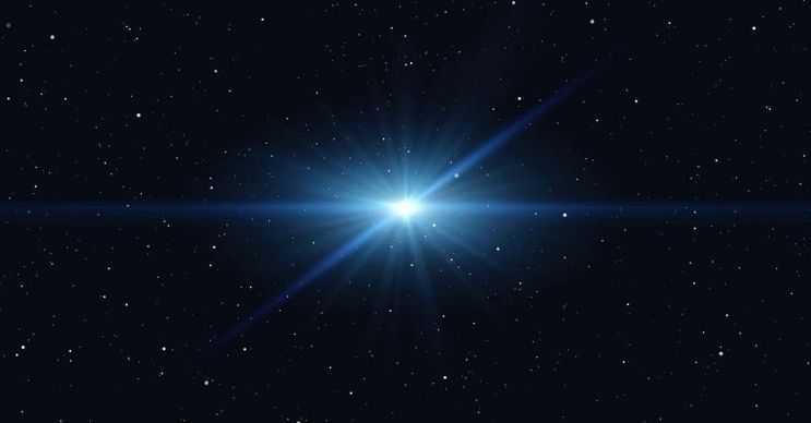 Uzayda parlayan en parlak yıldız, dünyadan 163,000 ışık yılı uzaktadır.
