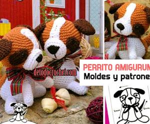 Aprende a tejer un perrito a crochet AMIGURUMI