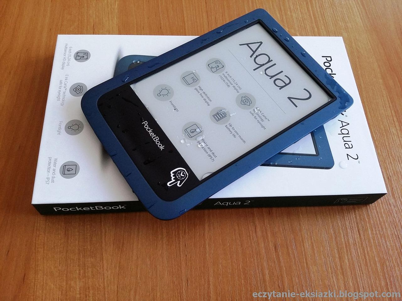 PocketBook Aqua 2 po wyjęciu z wody