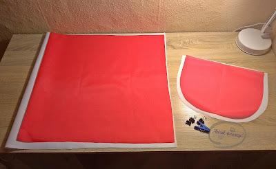 Adzik tworzy - DIY plecak jednorożec z czego uszyć