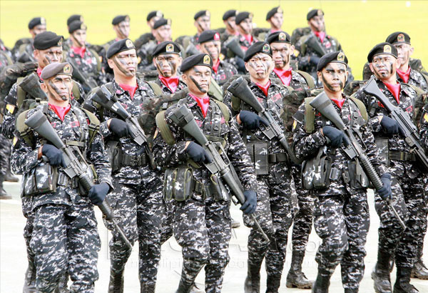 Philippine troops of Duterte ready to deploy to help Gulf Allies in the Middle East!