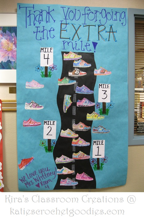 Classroom Pledge Ideas ~ Classroom bulletin board poster inspiration katie s