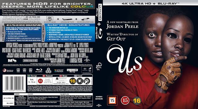 Us 4k UHD Bluray Cover