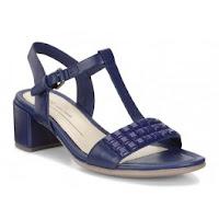 Sandale business dama ECCO Shape 35 (Albastre)