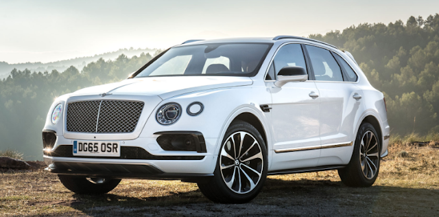 2017 Bentley Bentayga SUV Design