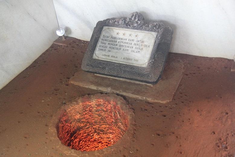 Derry Christian Monumen Pancasila Sakti Lubang Buaya