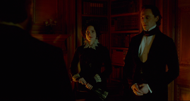 Thomas and Lucille Sharpe in CRIMSON PEAK (2015).