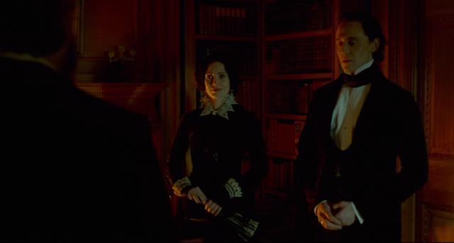 Thomas and Lucille Sharpe in CRIMSON PEAK (2015).