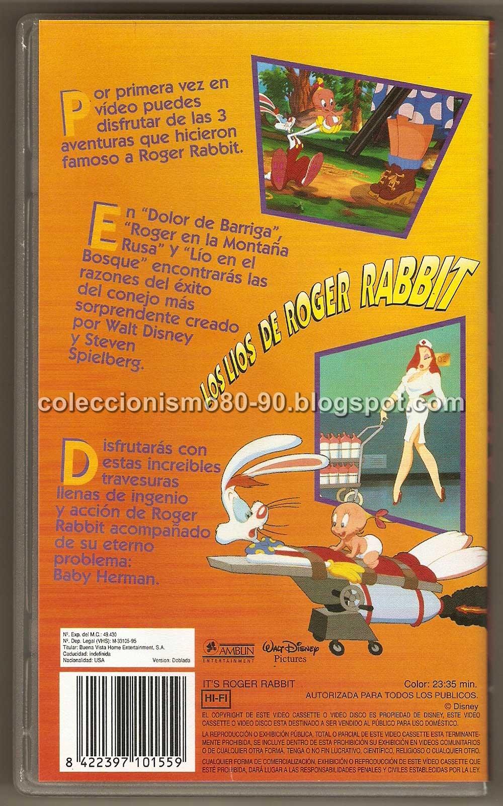 Asombroso Quién Engañó A Roger Viooz Conejo Elaboración - Ideas ...