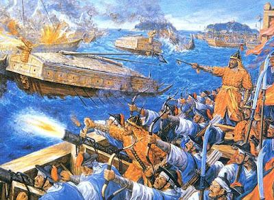 LA ARMADA COREANA EN EL SIGLO XVI: LOS BARCOS TORTUGA