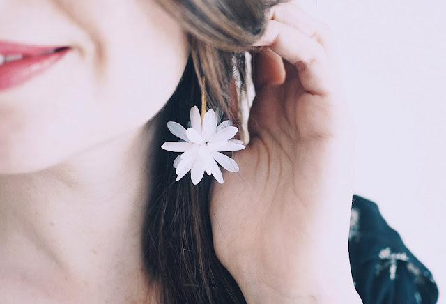 boucles d'oreilles Zoé Bassetto x Mathilde ma muse