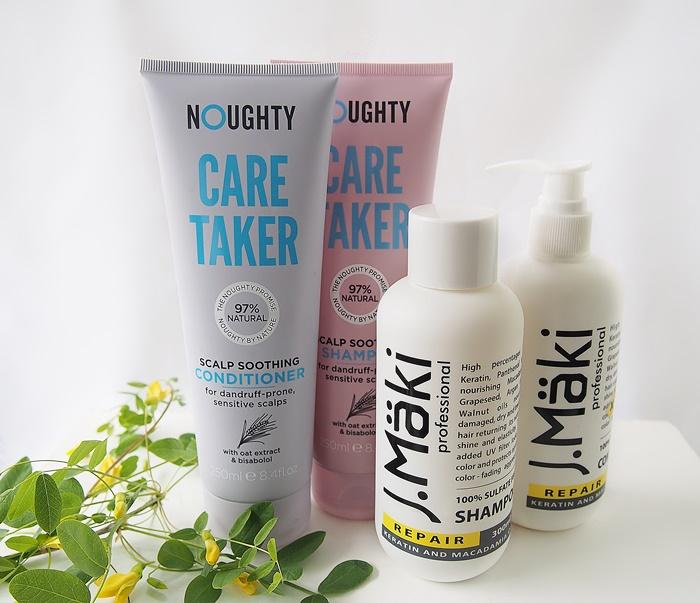 noughty shampoo hoitoaine J.Maki Professional