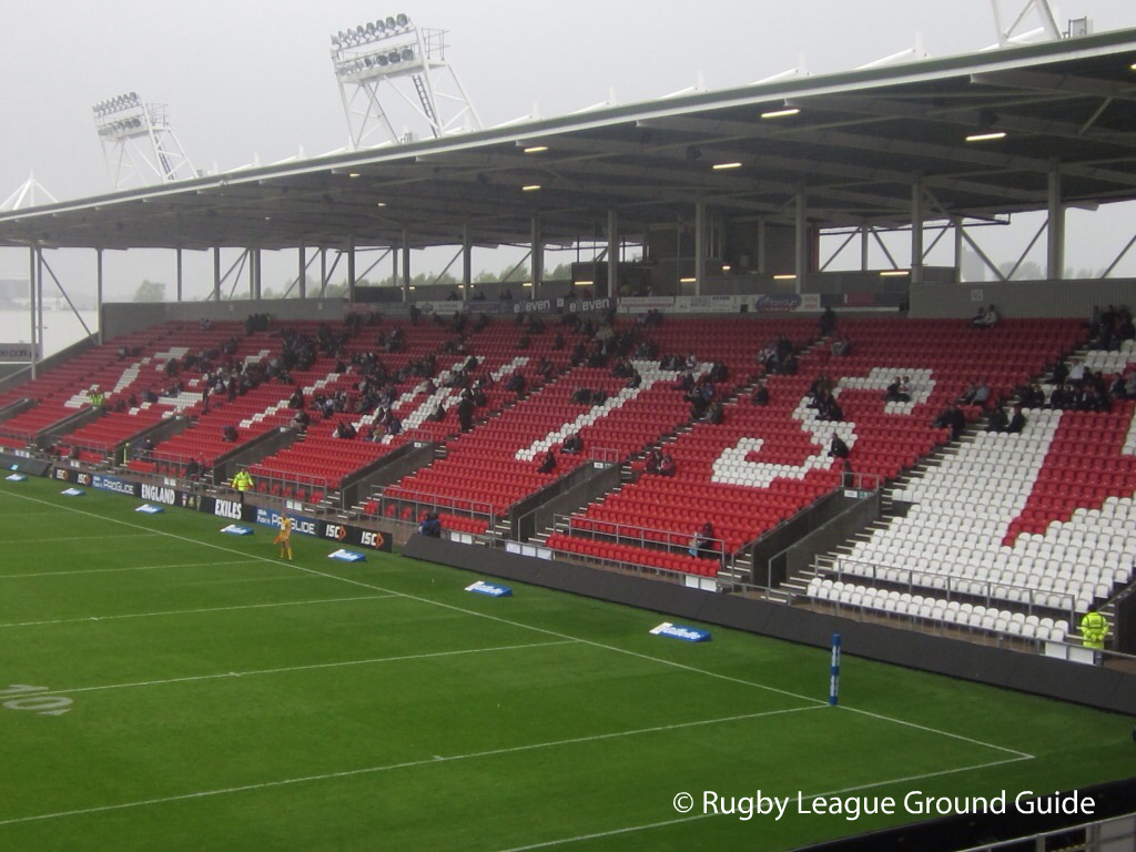 Rugby League Ground Guide St Helens Langtree Park