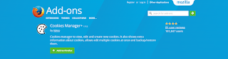 cookies manager Add-on