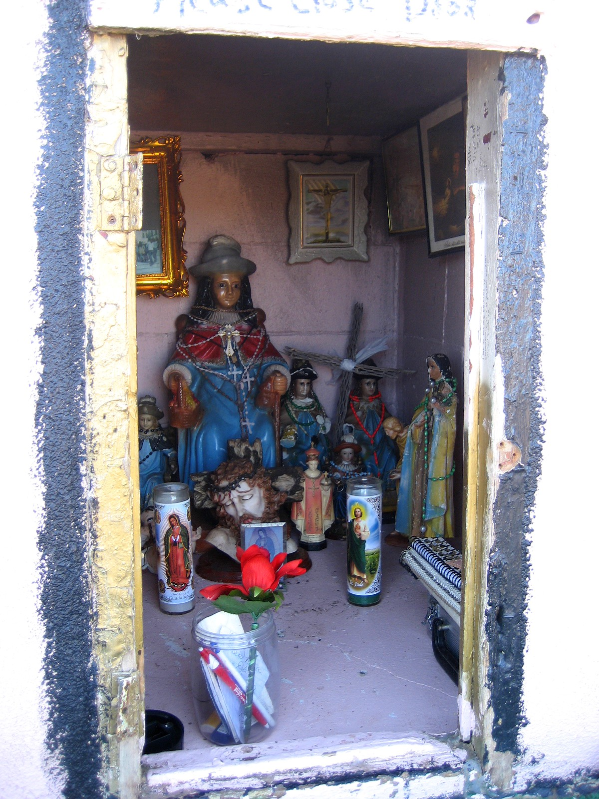Living Rootless Highway 60 New Mexico Stories At A Shrine