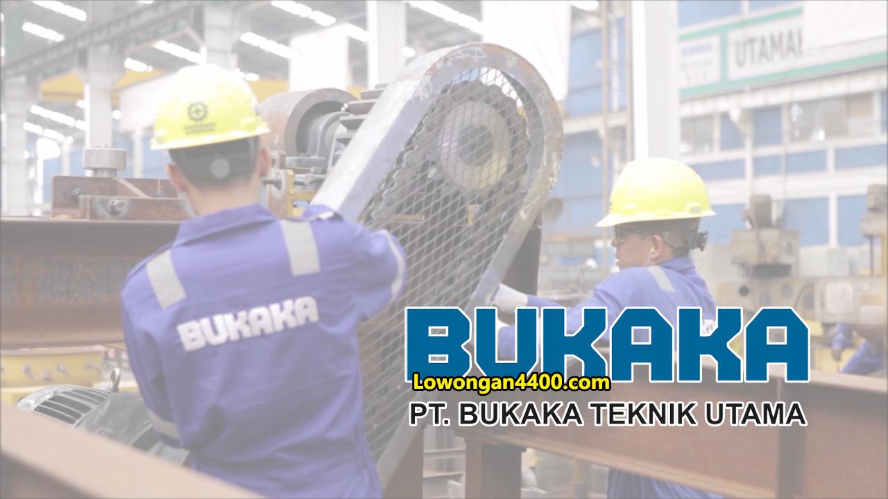Lowongan Kerja Operator Produksi Pt Bukaka Teknik Utama
