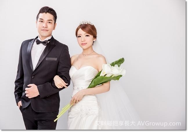 新娘捧花-白色海芋-仿真花-婚紗道具