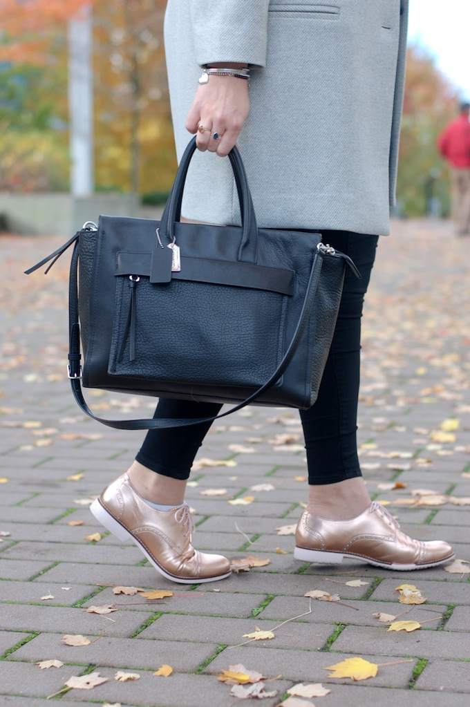 Coach Riley bag Cole Haan Gramercy oxfords