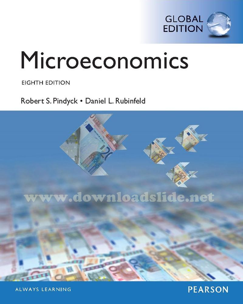 Ebook Microeconomics 8th Edition by Pindyck & Rubinfield (Global Edition)