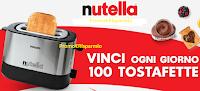 Logo Con Nutella vinci 2.800 Tostafette Philips