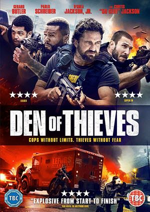 Den of Thieves 2018 English 480p 450MB BRRip x264 ESubs
