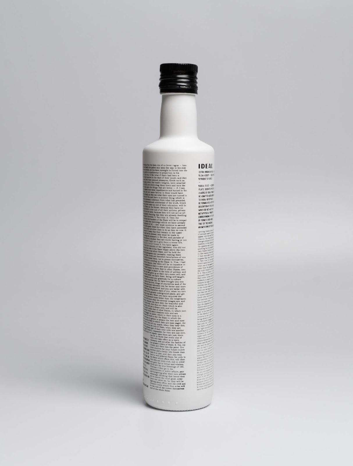 Ideal Olive Oil on Packaging of the World - Creative Package Design