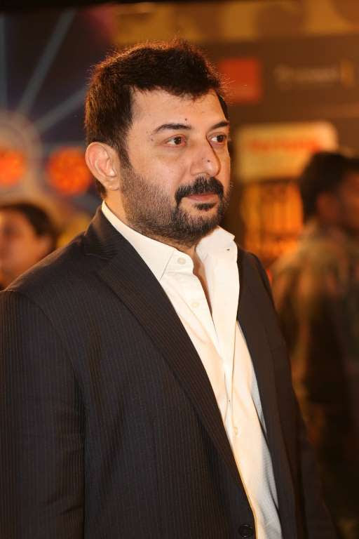 Tamil actor Arvind Swamy pocketed Best Performance in a Negative Role award for his performance in Thani Oruvan