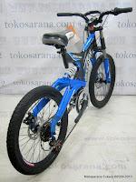 2 Sepeda Gunung Pacific Nitron 6 Speed Shimano 20 Inci