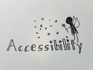 Accessibility with Fairy blowing Pixie Dust