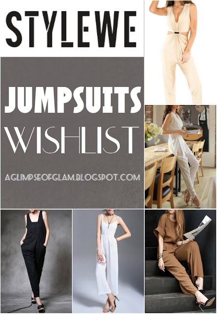 StyleWe Wishlist: Jumpsuits - Andrea Tiffany A Glimpse of Glam