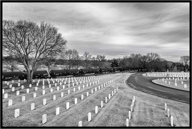 Tank Cars - Nashville National Cemetery - Nashivlle Terminal Subdivision