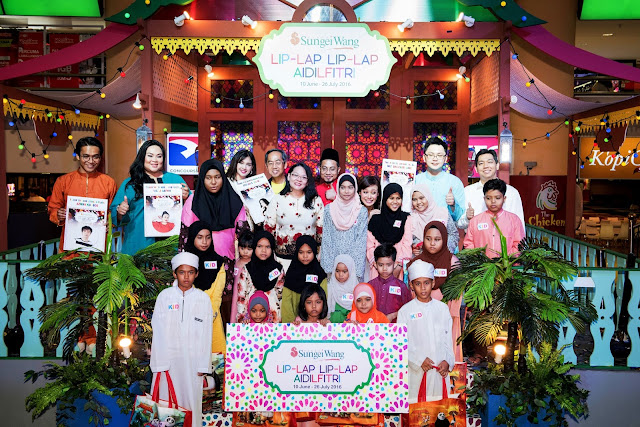 A vibrant and colourful Raya celebration @ Sungei Wang Plaza,Sungei Wang Plaza, Lip-Lap Lip-Lap Aidilfitri,