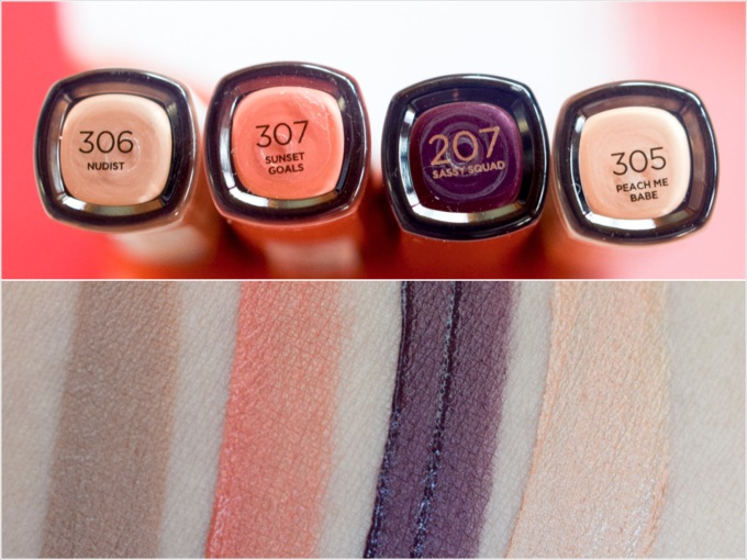 Die neuen L'Oréal Infaillable Eye Paint, Swatch
