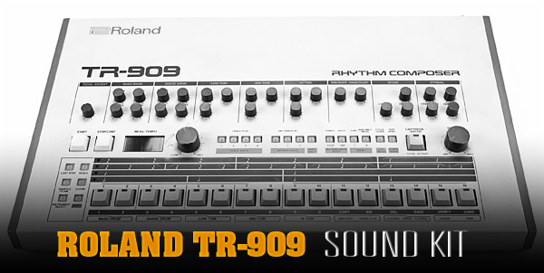 producer universe roland tr 909 sound kit. Black Bedroom Furniture Sets. Home Design Ideas