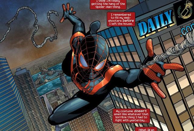 Asal-Usul Spider-Man Miles Morales adalah