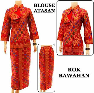 Baju batik setelan