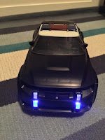 Judys Police Cruiser with flashing lights
