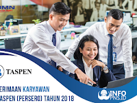PT. TASPEN (PERSERO) Buka Lowongan Besar-Besaran untuk lulusan D3 dan S1, Buruan Daftar !!