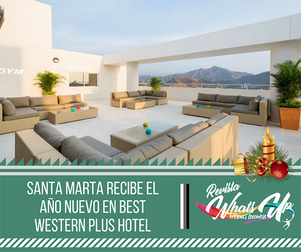 Santa-Marta-año-nuevo-Best-Western-Plus-Hotel-turismo