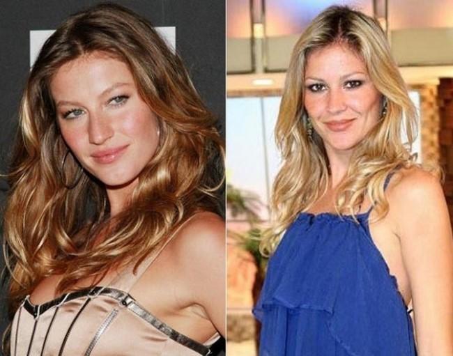 Atores e atrizes brasileiros que são parecidos