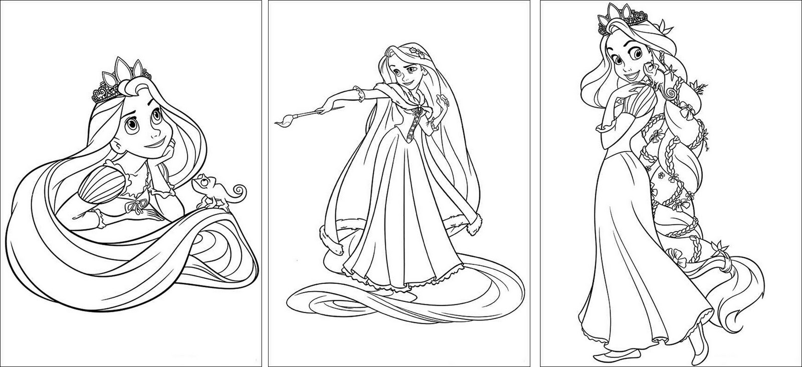 free rapunzel coloring pages - it 39 s written on the wall tangled rapunzel birthday